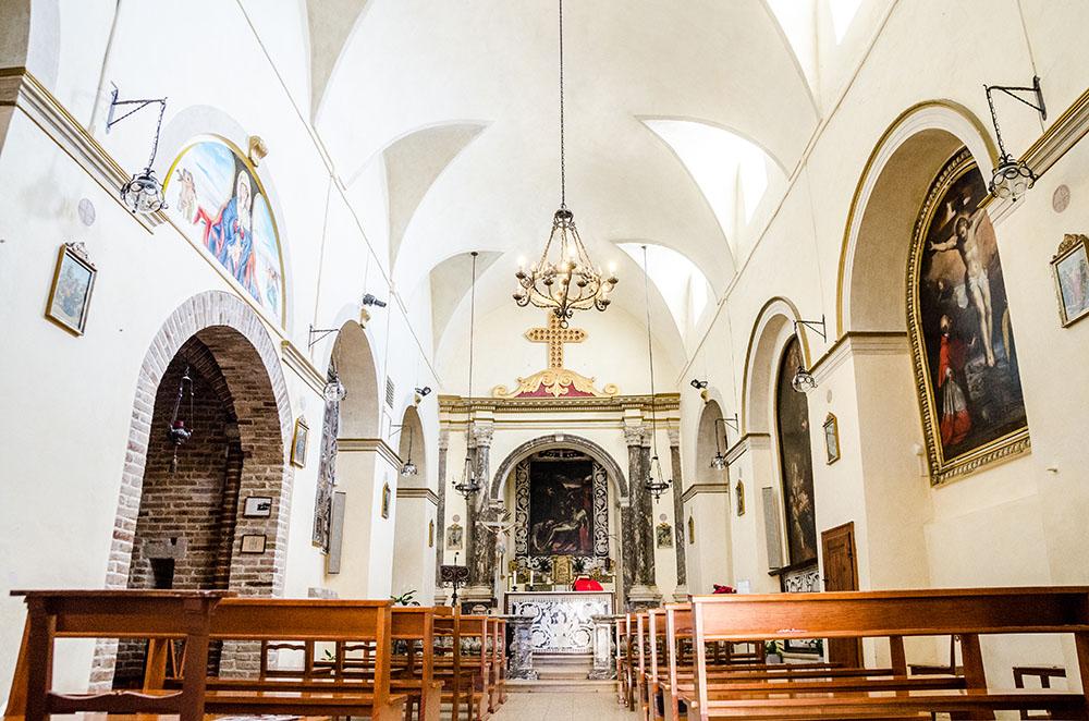 Interno Pieve San Gaudenzio