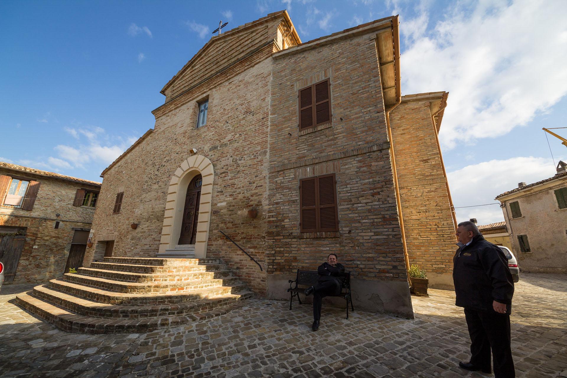 Pieve di San Gaudenzio, foto di Daniele Marzocchi